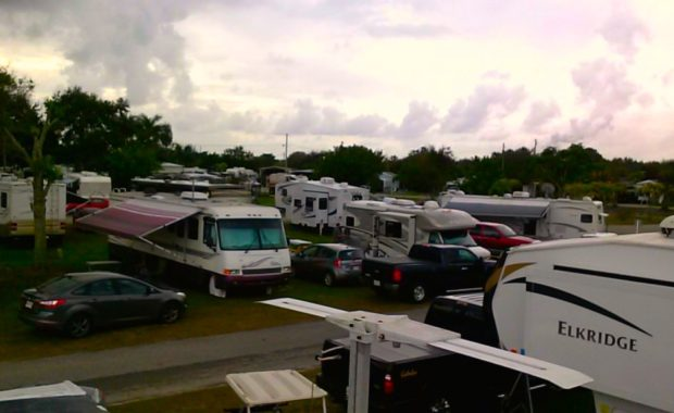 RV Hookup Available